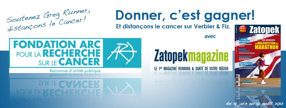 Donner, c'est gagner un an au MagazineZartopek!