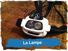 Frontale Petzl Nao: la Lampe