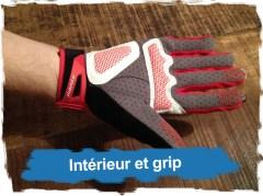 Gants X4 Performance Dynafit: Interieur Grip