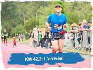 KM42: l'arrivée