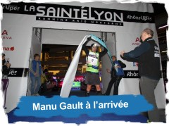 Emmanuel Gault, Vainqueur de la Saintélyon 2012