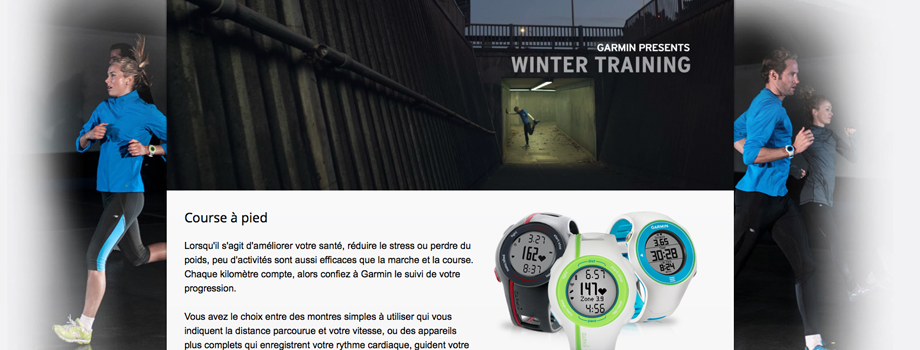 Garmin: des performances à la carte