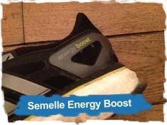 Adidas Energy Boost: la Semelle