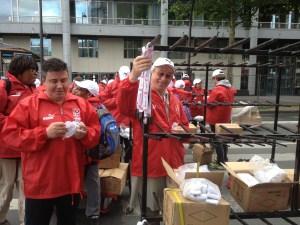 Bénévole: les médailles du 10km de L'Equipe