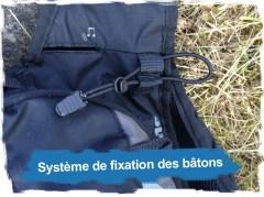 Hydragon Ace: Serrage et fixation des bâtons