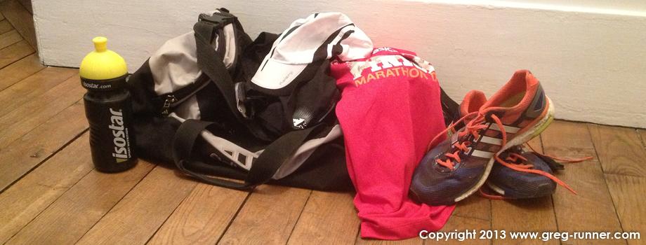 Préparer son sac pour competition course à pied