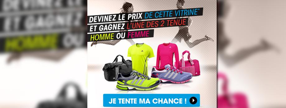 Casal Running: tenue Adidas à gagner