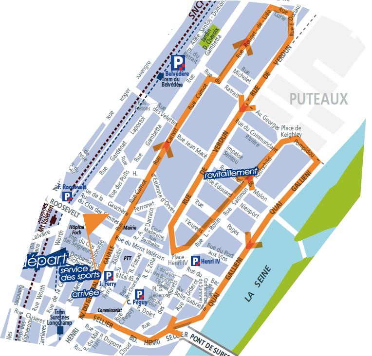 Parcours-Foulee-Suresnoise-10km-Suresnes