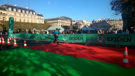 Ekiden de Paris: zone de relais
