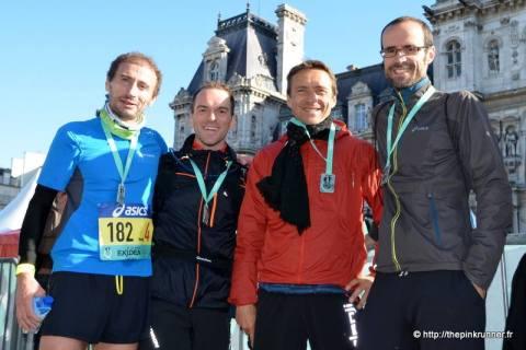 Ekiden de Paris: la team Runnosphère
