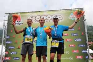 6000D 25eme édition - podium hommes