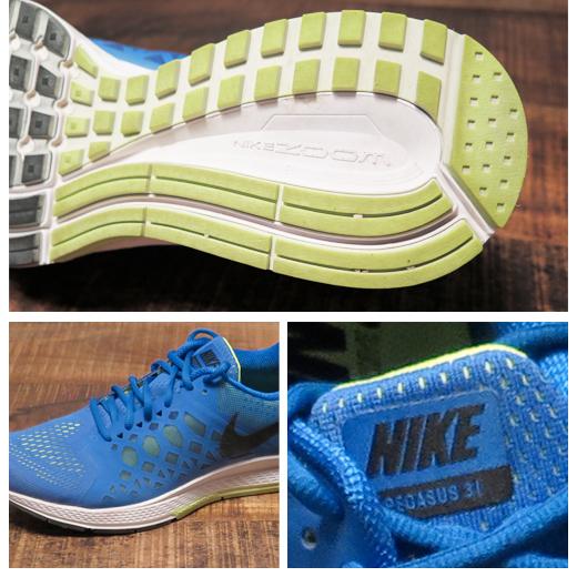 Nike Pegasus 31: close Up