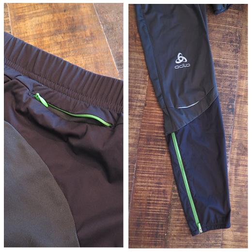Odlo: le pantalon zeroweight