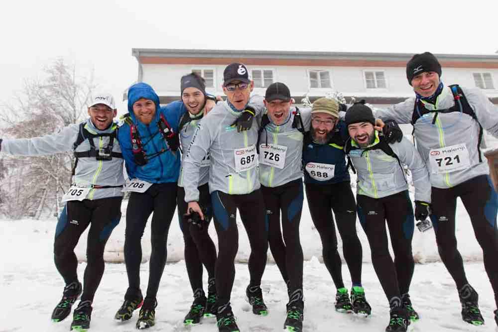 Une équipe prête à en découdre dans la neige