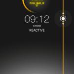 Petzl Reactik Plus - application My Petzl Light: controle de l'autonmie par un coulissement latéral