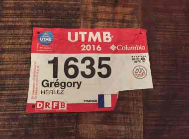 No Finisher de l'UTMB
