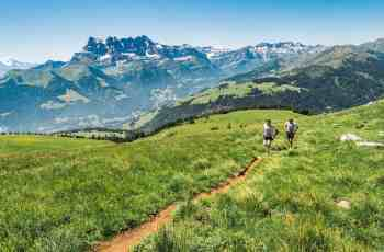 Faire du trail aux portes du soleil