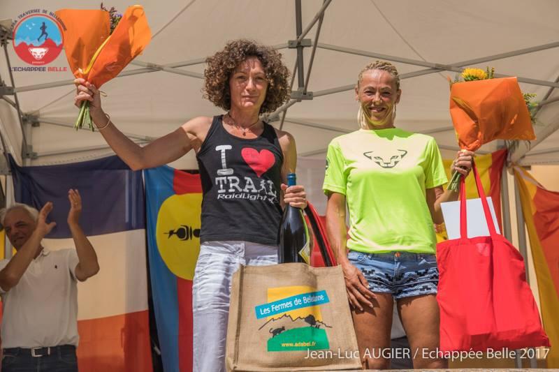 Echappée Belle: podium feminin - (c) J.-L. Augier