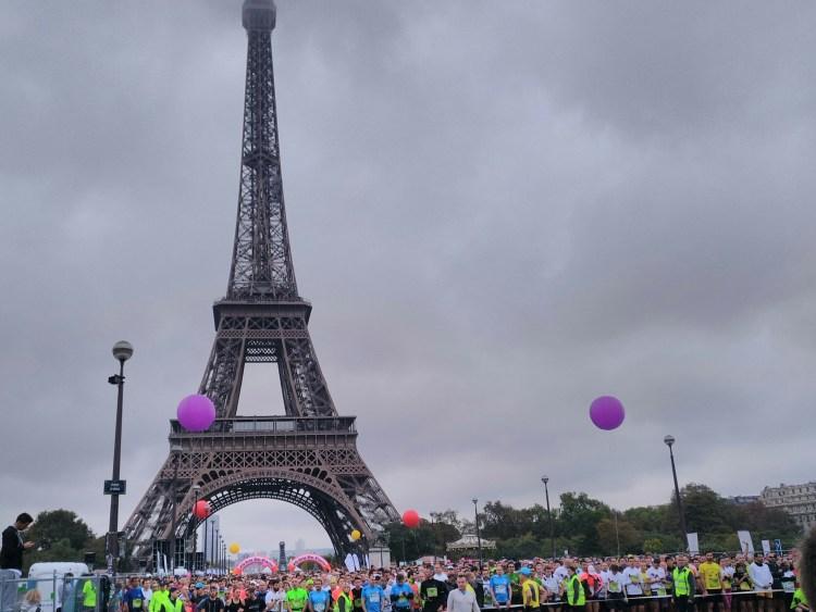 20km de Paris: départ