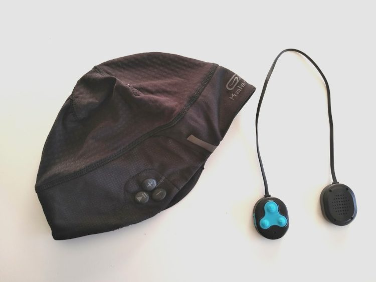 Bonnet kalenji running bluetooth et les écouteurs