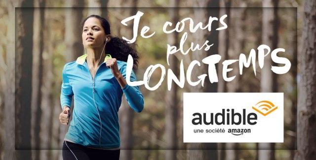 Faire du sport avec un livre audio Audible