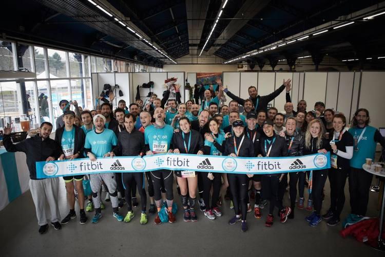 Semi de Paris avec la Team Fitbit