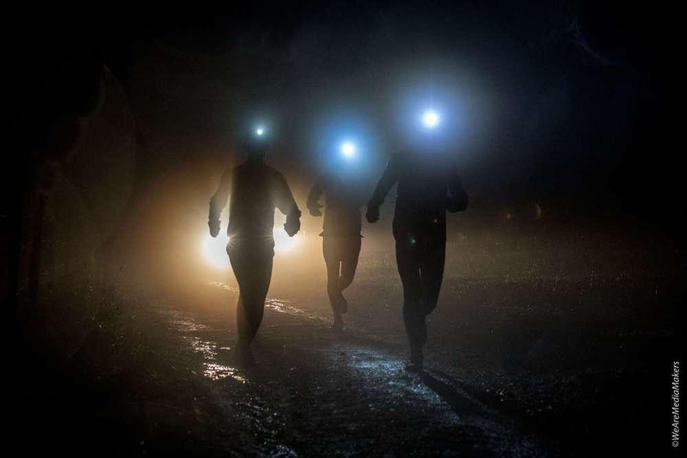 Du brouillard pour la Saintelyon 2018