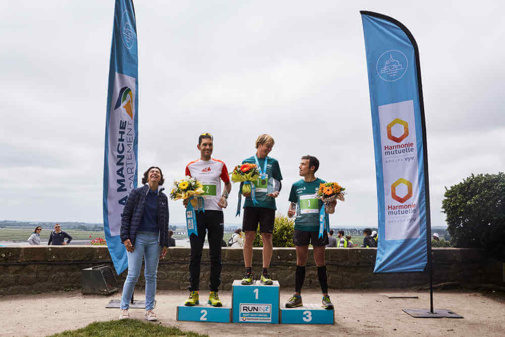 Run In Mont Saint-Michel - Trail de l'Archange: Podium Hommes