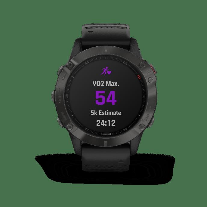 La Garmin Fenix 6 vous permet d'estimer votre VO2-Max