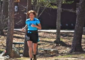 Picture of Sally Brooking at Mount Cheaha 50k Trail Ultra Marathon