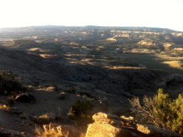 Grand view of Canyons at RATS 25 mile race