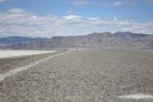 The long road to the finish at the Salt Flats 100