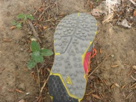 Montrail Bajada shoe sole picture