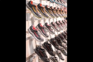 picture of montrail shoes at outdoor retailer winter market 2013