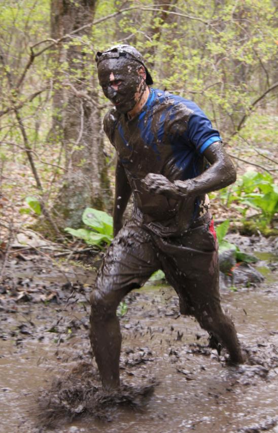 Muddy Marathon Participant