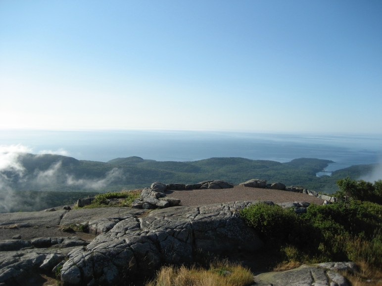 View from the summit of Cadillac