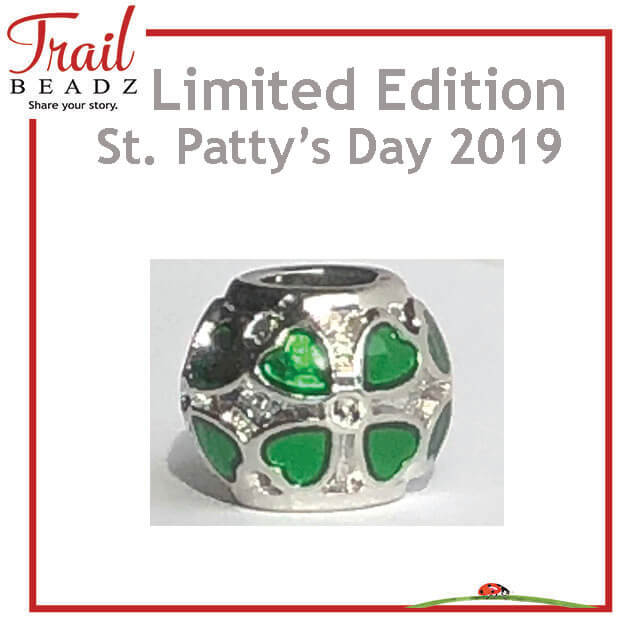 Lodi March 2019 Limited Edition Shamrock Bead