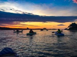Sunrise kayaking in Myrtle Beach!