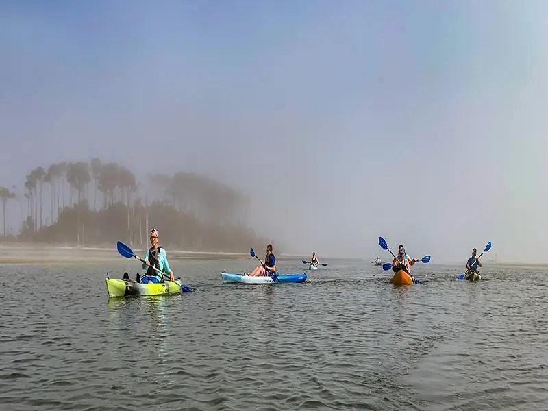 Kayaking Myrtle Beach