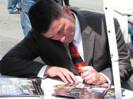salute guy signing 1951