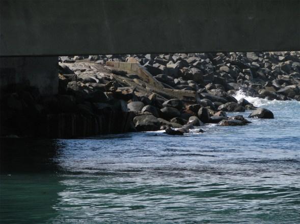under bridge lagoon
