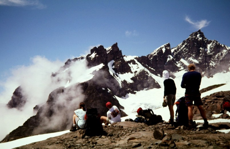 Black Buttes From Base Camp