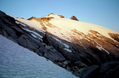 Morning Sun On Snowking Mtn