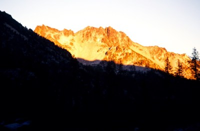 Alpenglow On Cardinal Peak