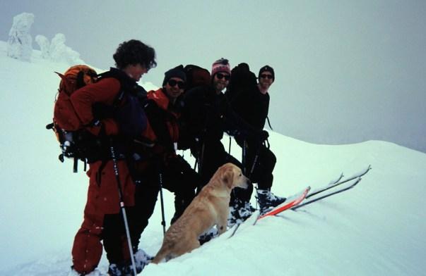 Group On Ridge Crest