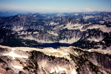 Gold Lake From Big Snow Mountain
