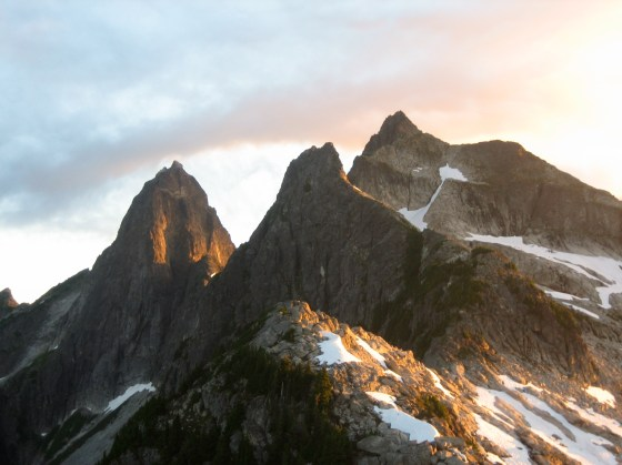 Sunrise On Mt Triumph