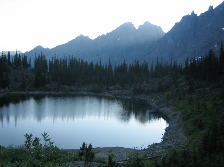 Home Lake and Warrior Peaks