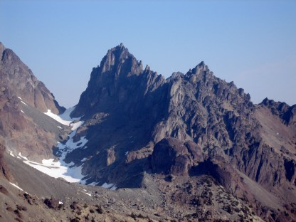 Mt Clark and Sundial From Royal Pass