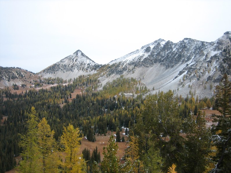 Cheops Peak From Old Maid Pass